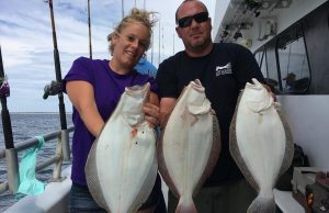 Fluke caught the first week of August on board the Gambler party boat. (Photo: Gambler Crew)
