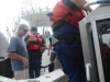 The Coast Guard conducts boardings off the coast of Point Pleasant Beach, New Jersey to remind anglers to obtain the proper permits prior to going fishing, July 28, 2017. Coast Guard boarding team members from Station Barnegat Light and Manasquan Inlet issued several fishing violations and want to educate the public on fishing regulations .U.S. Coast Guard video by Petty Officer 3rd Class David Micallef