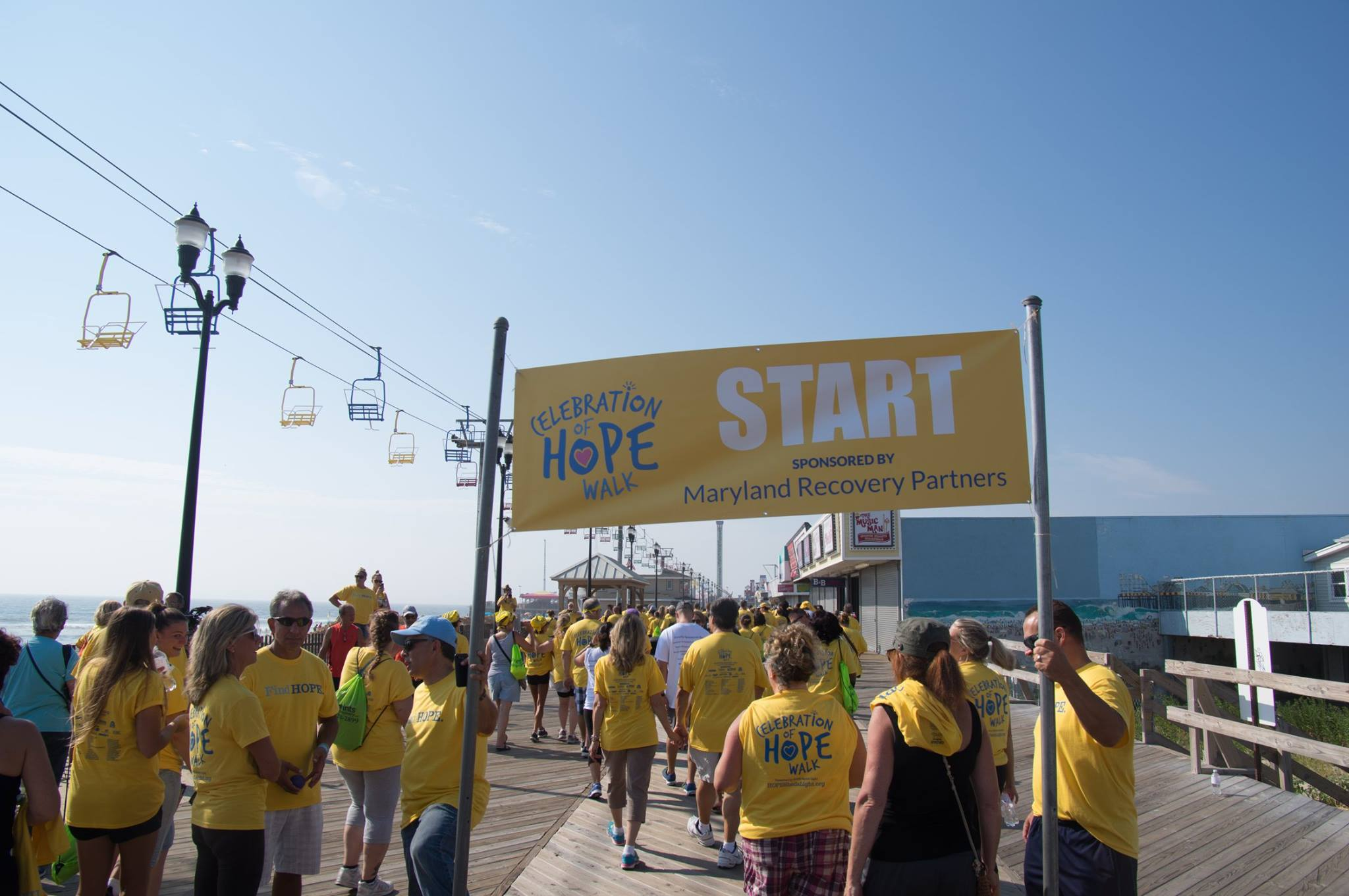 The HOPE Sheds Light Walk in Seaside Heights. (File Photo)