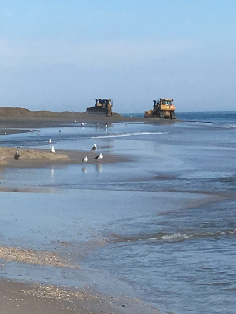 Beach replenishment in Mantoloking, N.J., Oct. 2017. (Photo: Bob Hopkins)