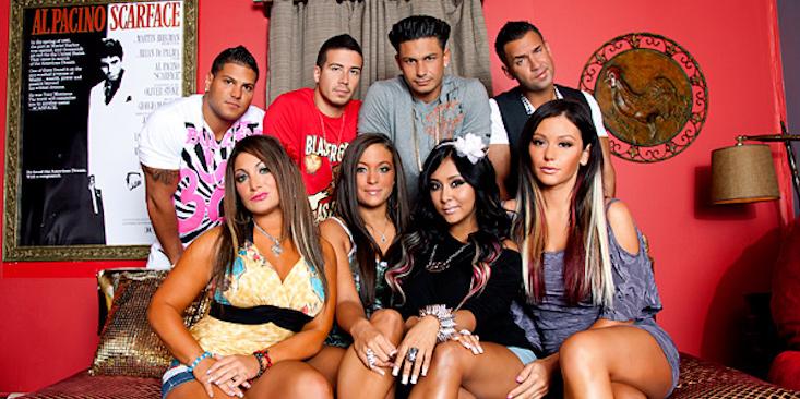 'Jersey Shore' cast members. (File Photo)