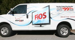 Verizon FiOS truck. (Photo: B2B Media)