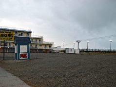 The future location of Seaside Heights' historic carousel. (Photo: Daniel Nee)