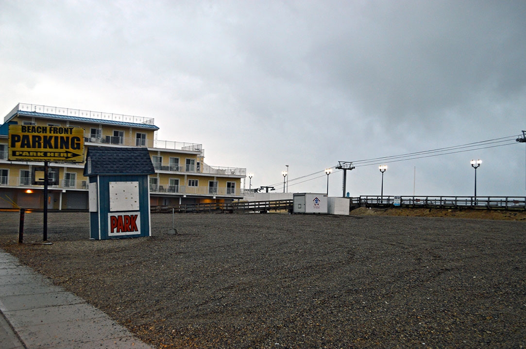 The future location of Seaside Heights' historic carousel. (Photo: Daniel Nee)