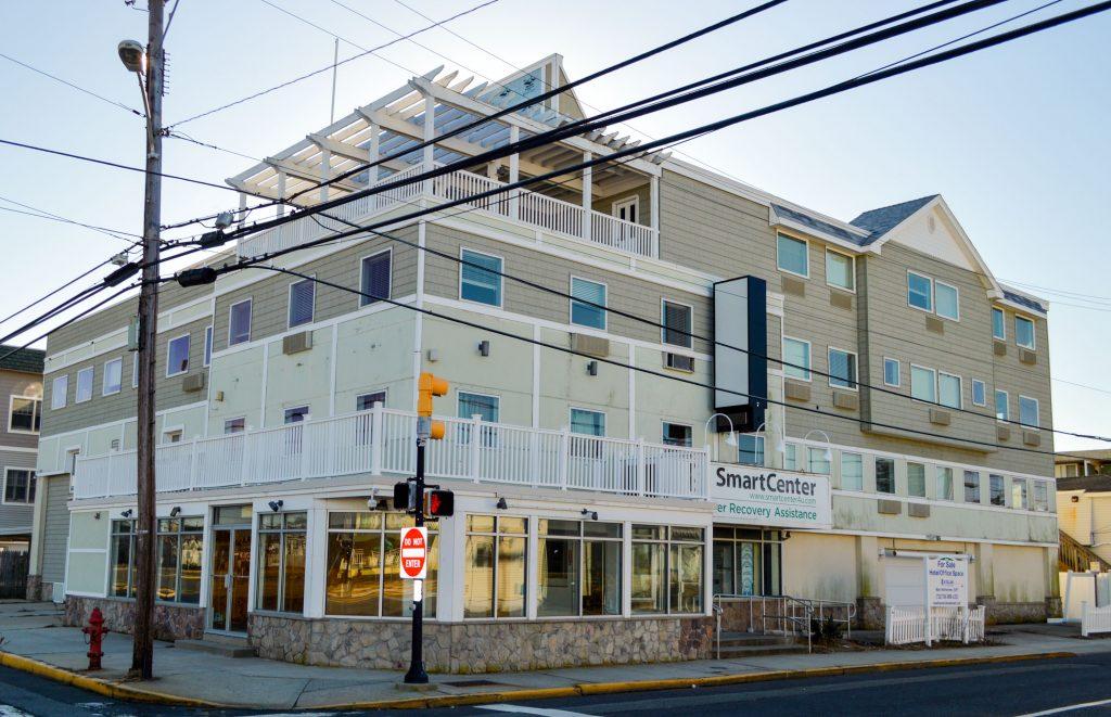 White Pearl Hotel, Seaside Heights, N.J., Feb. 2018. (Photo: Daniel Nee)