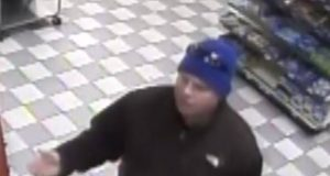 The suspect in a theft in Lavallette, March 16, 2018. (Photo: Lavallette PD)