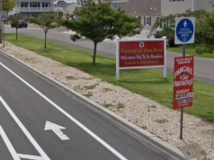 The entrance to Toms River along Route 35 south. (Credit: Google Maps)