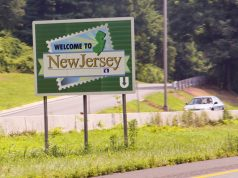 Welcome to New Jersey sign. (Credit: GovTech)