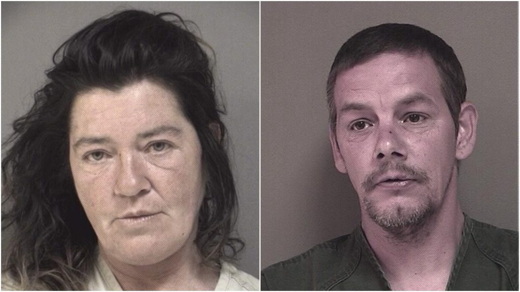 Noelle Smart and Anthony Getchius. (Photos: Ocean County Jail)