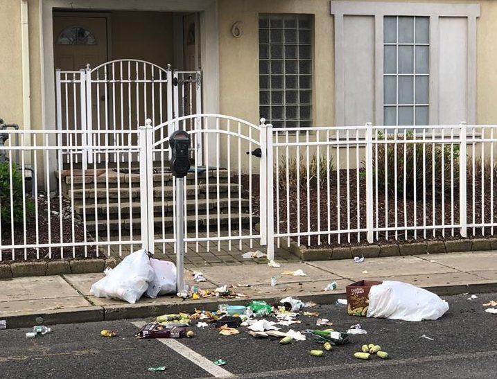 Trash bags in Seaside Heights, N.J. (Photo: Seaside Heights Public Works)