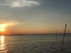 Sunset over Barnegat Bay, July 15, 2018. (Photo: Daniel Nee)