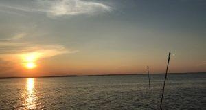 Sunset over Barnegat Bay, July 15, 2018. (Photo: Daniel Nee)