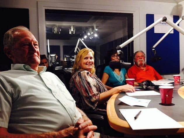 Ken Langson at the WOBM radio studios. (Photo: Townsquare Media via Jersey Shore Online)