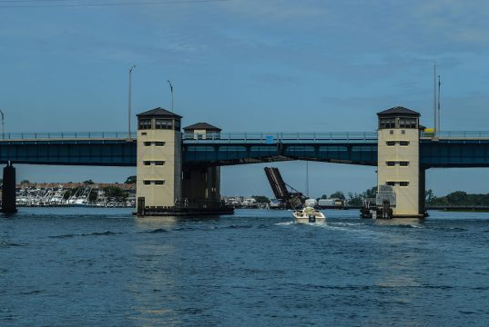 The Route 35 bridge between Brielle and Point Pleasant Beach. (Photo: Daniel Nee)