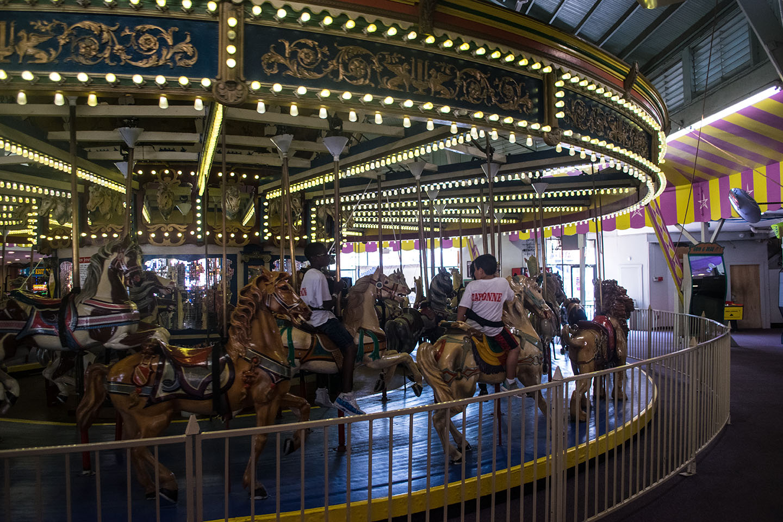 The historic carousel in Seaside Heights, Aug. 2018. (Photo: Daniel Nee)