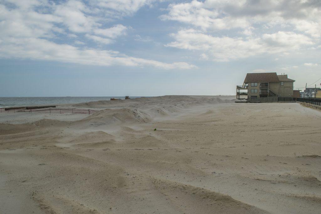 A desolate Ortley Beach, Oct. 1, 2018. (Photo: Daniel Nee)