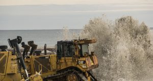 Beach replenishment work in Toms River's North Beaches, Oct. 15, 2018. (Photo: Daniel Nee)