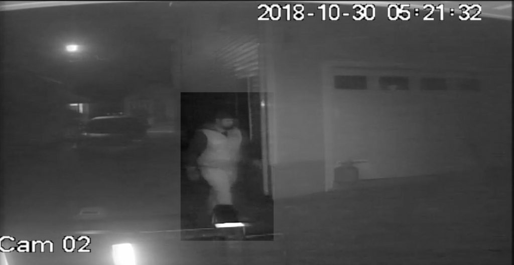 A person of interest in an Oct. 30, 2018 fire in Seaside Heights. (Photo: OCPO)