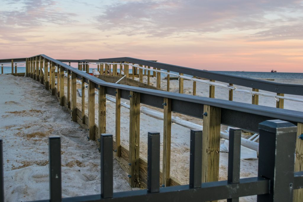 Expanded beaches in Seaside Heights, Dec. 19, 2018. (Photo: Daniel Nee)