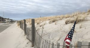 The Lavallette dunes and boardwalk, Jan. 23, 2019. (Photo: Daniel Nee)
