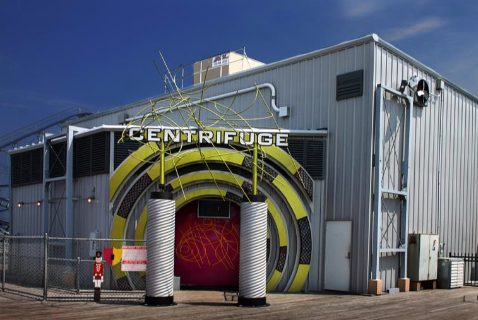 The 'Centrifuge' ride at Casino Pier, Seaside Heights, N.J. (File Photo)