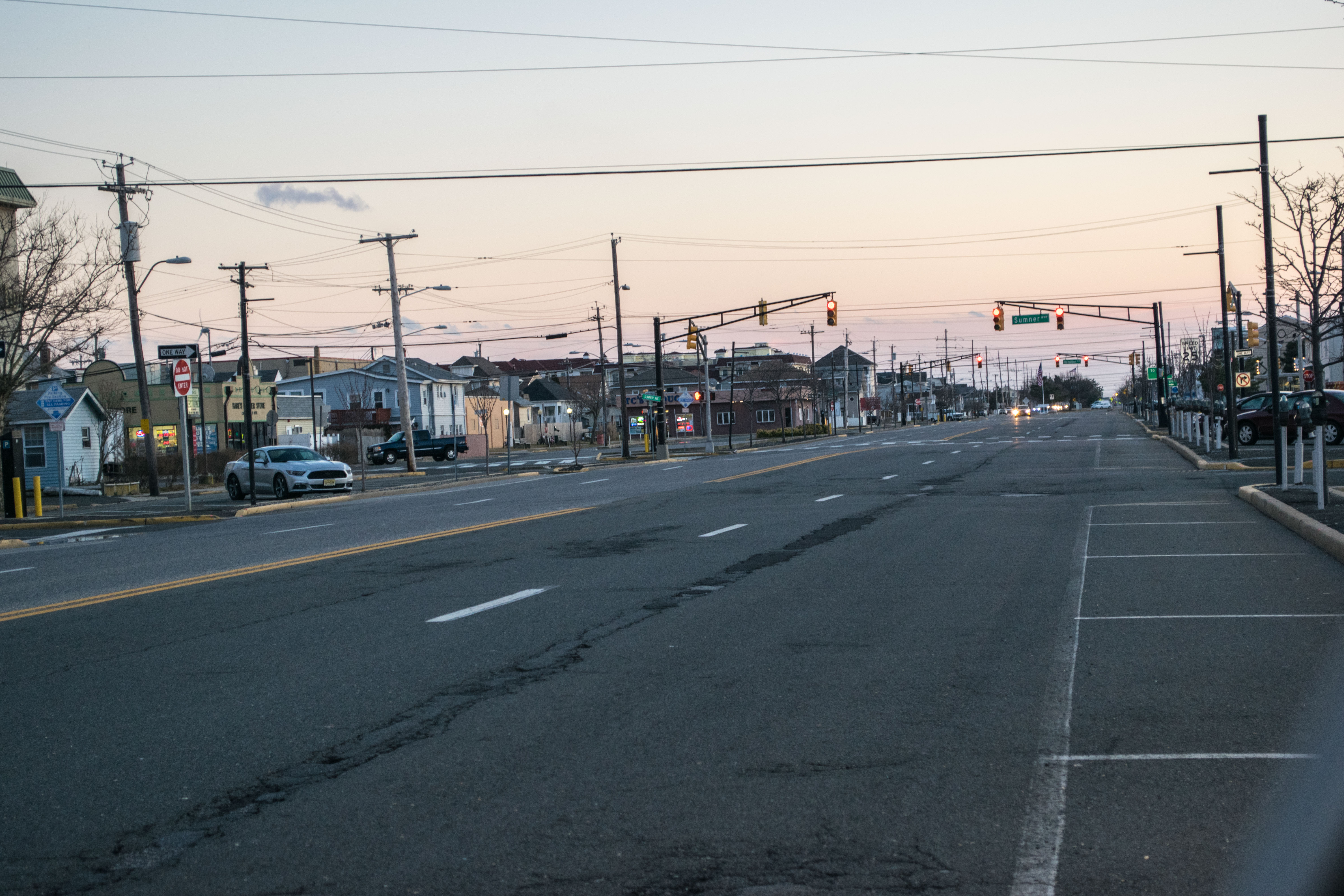 Central Avenue in Seaside Heights, Feb. 2019. (Photo: Daniel Nee)