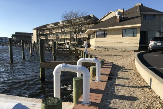 Docksider Marina, Ortley Beach, March 2019. (Photo: Daniel Nee)