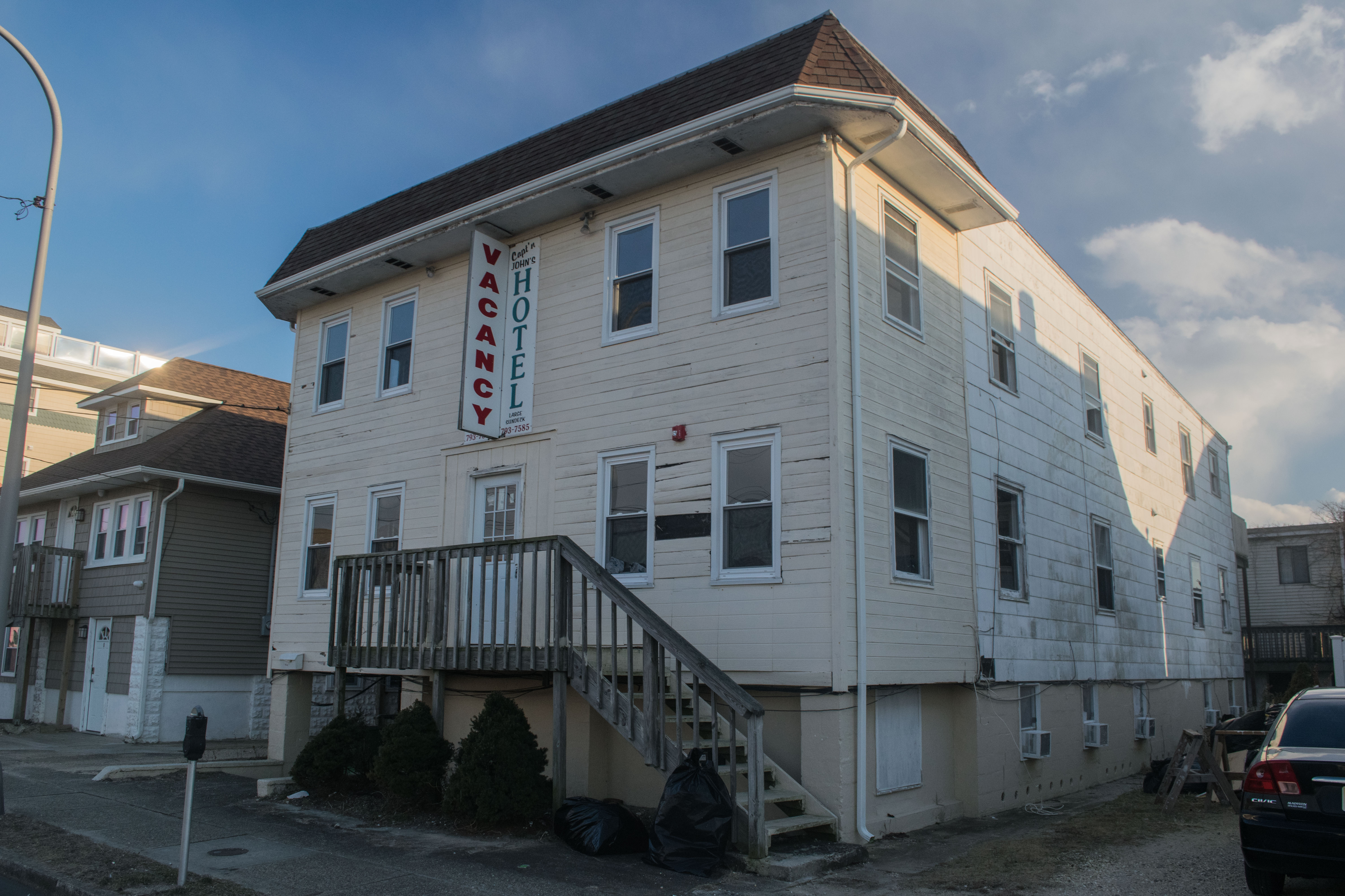 A rooming house at 45-47 Blaine Avenue in Seaside Heights. (Photo: Daniel Nee)