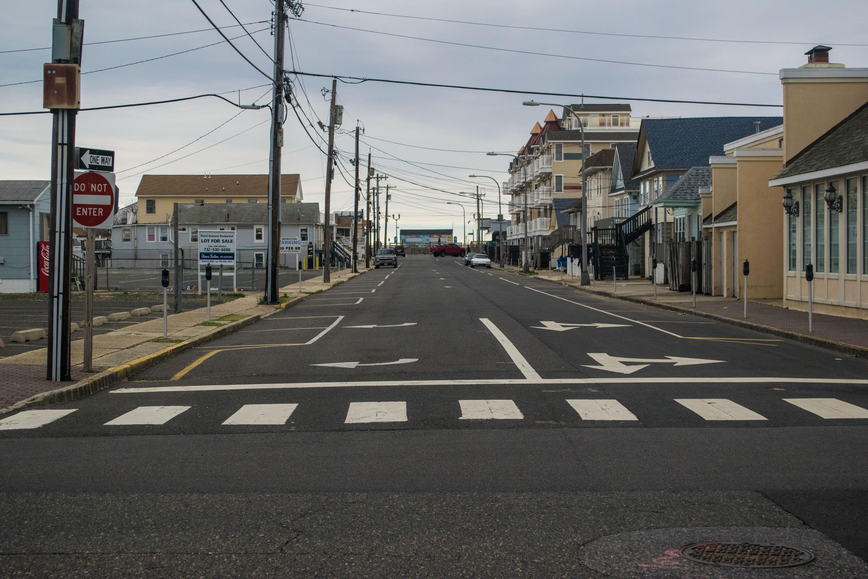 Blaine Avenue in Seaside Heights. (Photo: Daniel Nee)