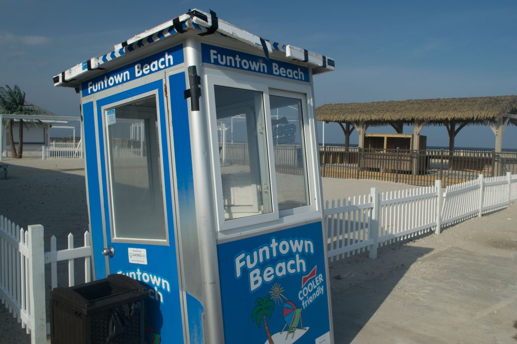 Funtown Beach, April 2019. (Photo: Daniel Nee)