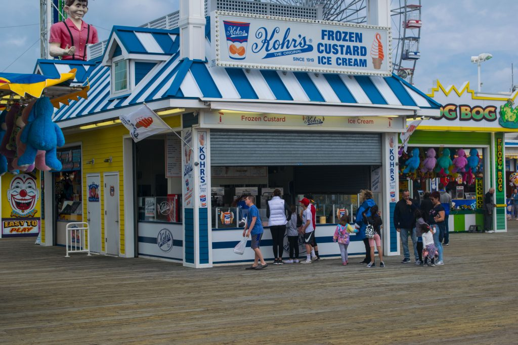 Kohr's Frozen Custard, Seaside Heights, N.J., May 2019. (Photo: Daniel Nee)