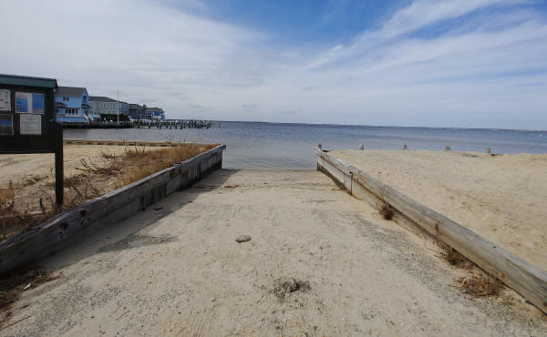 The Lavallette municipal boat ramp. (Borough Photo)