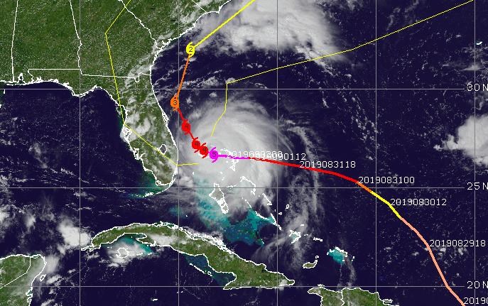 Hurricane Dorian (Credit: CIMSS Tropical Cyclones)