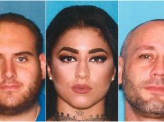Suspects charged with dealing drugs in Ocean County. (From left: Galli, Humphreys and Vella.)