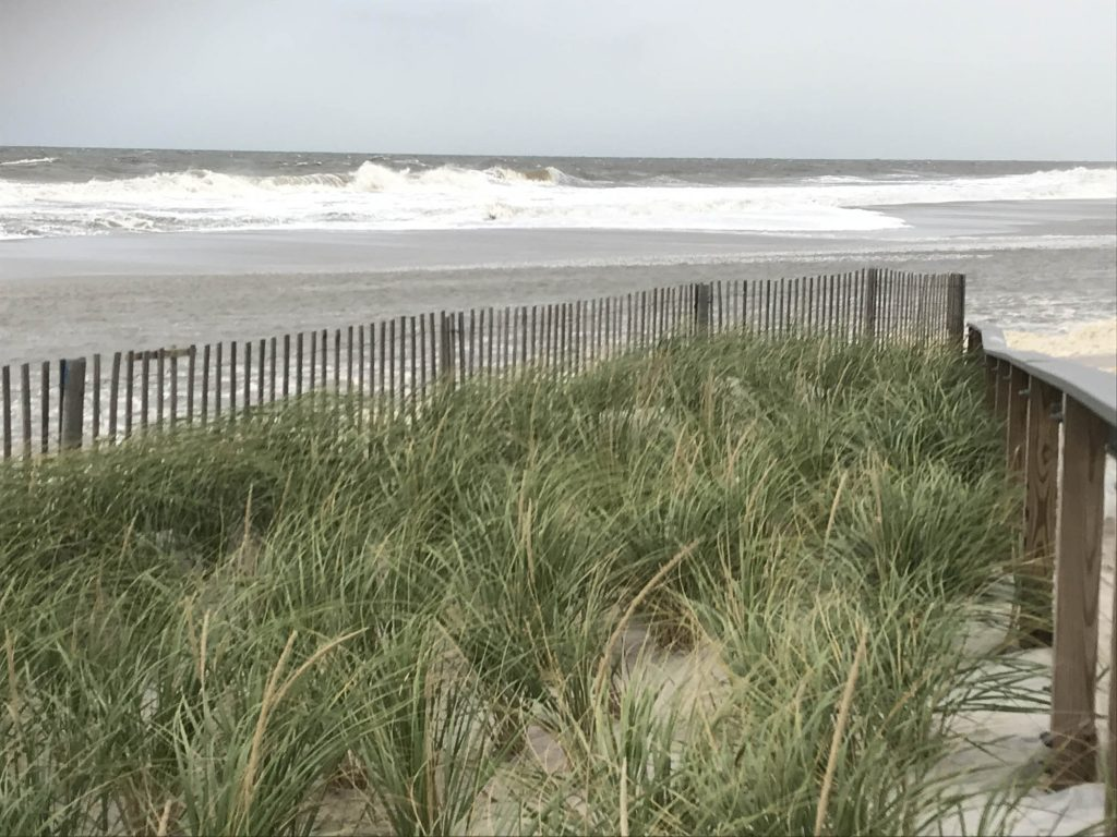 Ortley Beach during the Oct. 10, 2019 nor'easter. (Photo: Daniel Nee)