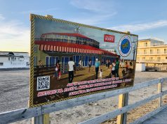 The future home of the Seaside Heights boardwalk museum and carousel at Carteret Avenue. (Photo: Daniel Nee)