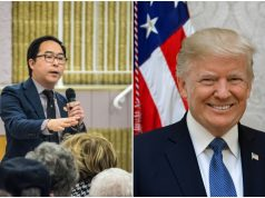 U.S. Rep. Andy Kim and President Donald Trump. (Photos: Shorebeat/White House)