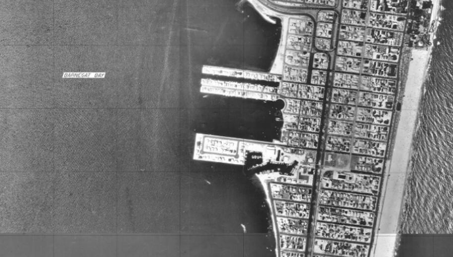 Seaside Park in the NJDEP's 1977 tidelands base map. (Credit: NJDEP)