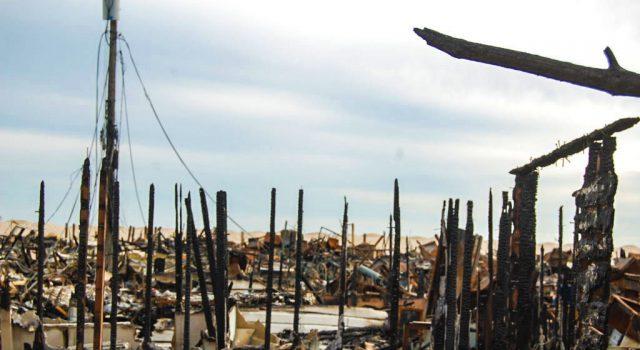 Camp Osborn, Brick, N.J., in the days following Sandy. (Photo: Daniel Nee)