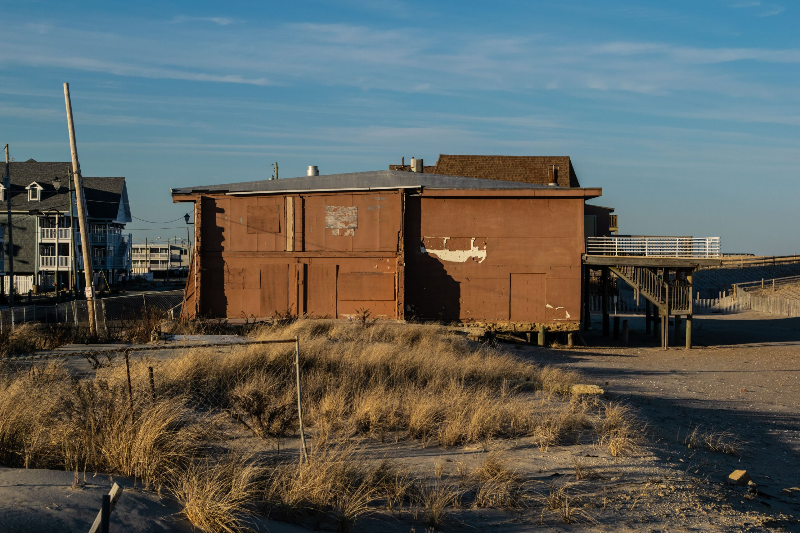 The former Joey Harrison's Surf Club, Ortley Beach, Feb. 2020. (Photo: Daniel Nee)