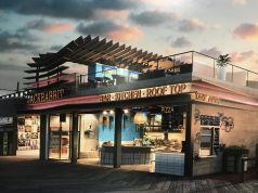 Renderings of a proposed bar on the Seaside Heights boardwalk. (Photo: Daniel Nee)