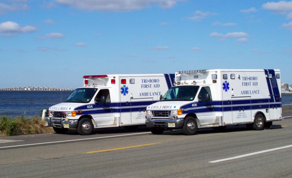 Ambulances from Tri-Boro First Aid. (Photo: Tri-Boro First Aid Squad/Facebook)