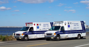 Ambulances from Tri-Boro First Aid. (Photo: Tri-Boro First Aid Squad/Facebook)
