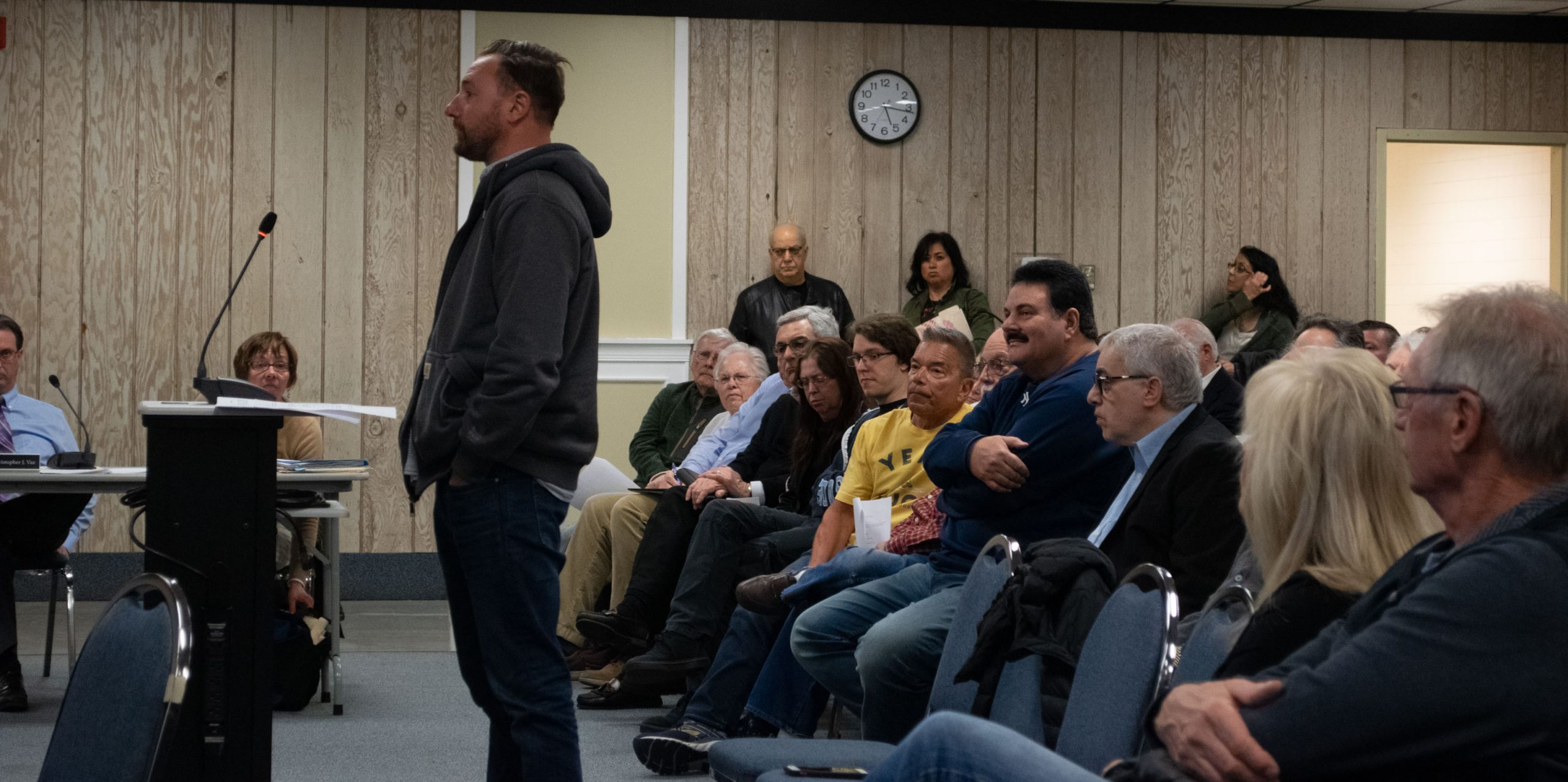 Discussion of a zonign ordinance at the March 4, 2019 Seaside Heights council meeting. (Photo: Daniel Nee)