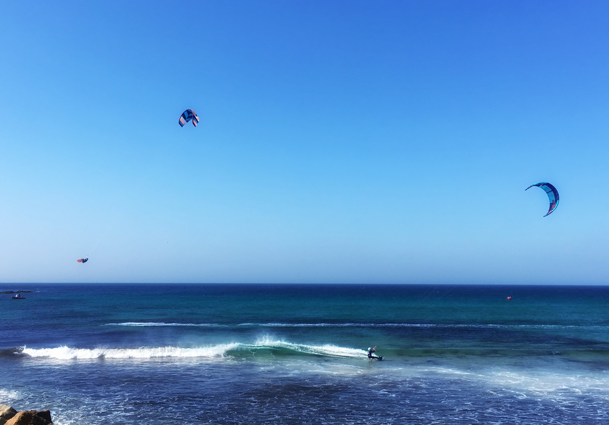 Kite surfing. (File Photo/ Credit: tortuga767/ Flickr)