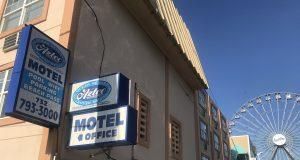 Motels in Seaside Heights, June 2020. (Photo: Daniel Nee)