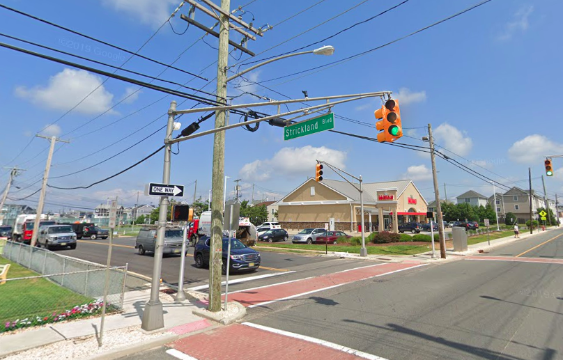 Strickland Avenue and Route 35. Credit: Google Maps