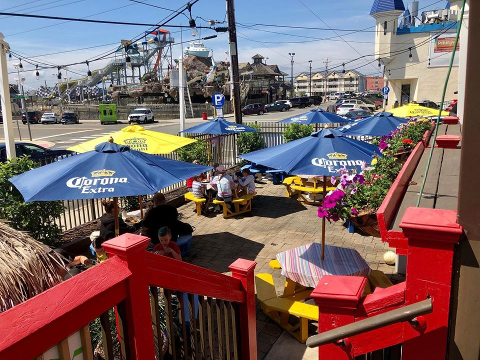 Seaside Heights bars and restaurants open for outdoor dining June 15, 2020. (Photo: Daniel Nee)
