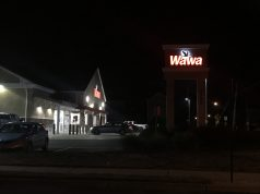 The Chadwick Beach Wawa store, about midnight, July 22, 2020. (Photo: Daniel Nee)
