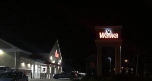 The Chadwick Beach Wawa store, about midnight, July 22, 2020. (Photo: Daniel Nee)